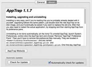 AppTrap-About