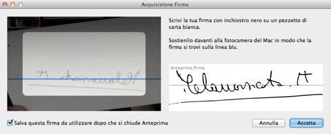Acquisizione-Firma